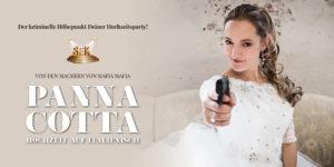 Panna Cotta Hochzeit auf Italienisch